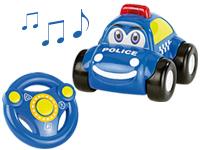 playtastic ferngesteuertes polizei auto mit echter sirene. Black Bedroom Furniture Sets. Home Design Ideas