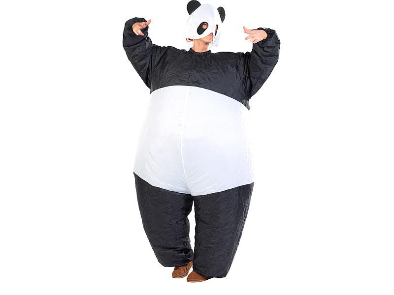 panda kostüm kinder