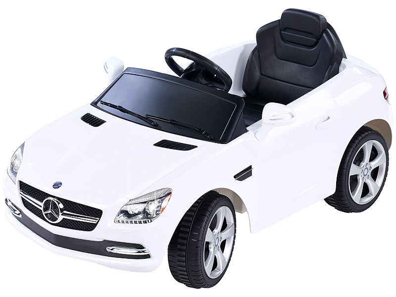 Playtastic Mercedes Benz Slk Sportwagen Elektro Kinderfahrzeug Mit