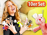 Playtastic Finger-Puppen 10er Set
