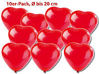 Playtastic Luftballons in Herzform 10er-Pack