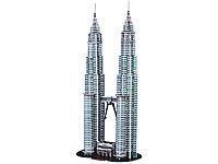 Playtastic 3D-Puzzle Petronas Towers