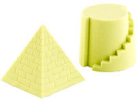 Playtastic Kinetischer Sand, fein, gelb, 500g; 3D Puzzles 3D Puzzles 3D Puzzles