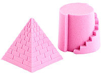 Playtastic Kinetischer Sand fein, pink, 500g; 3D Puzzles 3D Puzzles 3D Puzzles